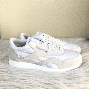 070c8ae0b64c Reebok Shoes - Men s Reebok classic running shoe white suede 10.5